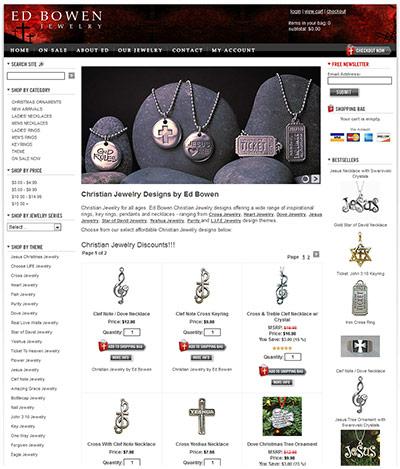 Ed Bowen Jewelry Site
